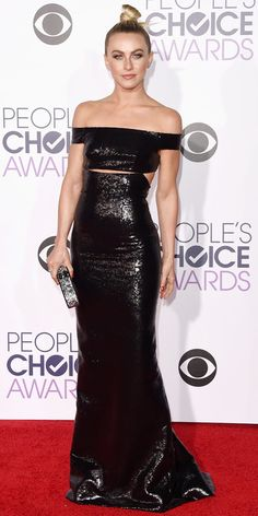 See All the Best Looks from the 2016 People's Choice Awards Red Carpet - Julianne Hough - from InStyle.com