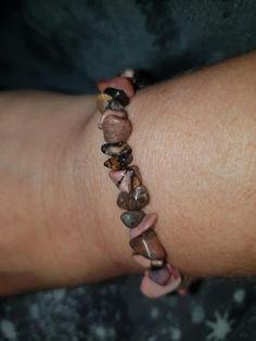 Rhodonite healing bracelet  £4.50 plus £1.50p&p  www.wiccanwonders.co.uk