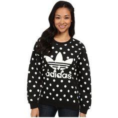 adidas Originals Dots AOP Trefoil Sweatshirt Women's Sweatshirt