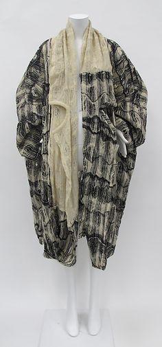 Coat, Comme des Garçons, 1982-83.