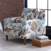 Found it at Wayfair - Georgeous Fabric Arm Chair