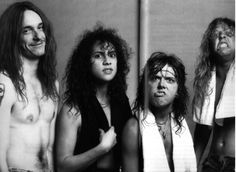 metallica-metallica-28785133-1280-934 James Hetfield, Jason Newsted, Cliff Burton, Robert Trujillo, Great Bands, Cool Bands, Ride The Lightning, Kirk Hammett, Thrash Metal