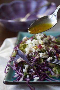 Feta-punakaalisalaatti