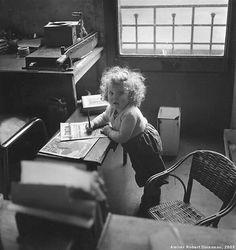 Moneypenny's Kindergarten... | Robert Doisneau
