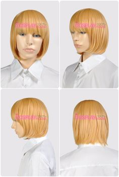 Death Note -- Mello Cosplay Wigs version 02 Halloween Cosplay, Death Note, Cosplay Wigs, Style, Stylus