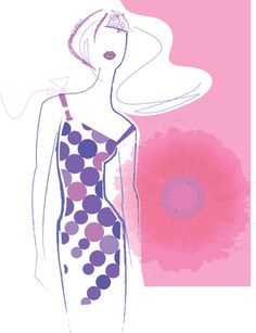 Spring Girl, Lisa Henderling Illustration