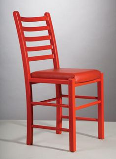 AKSEL® 2002 with 5 bands back. Supplied in oilet or stained/painted beech. Your choice of seat.