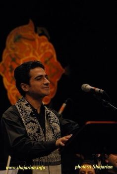 Homayoon Shajarian. Iranian singer
