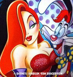 Jessica and Roger Rabbit  ImNotBad.com
