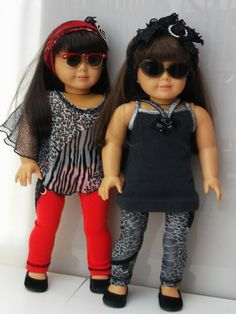 American Girl Doll Clothes  Bohemian Doll Shirt & by TheTrendyDoll, $22.00