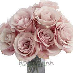 FiftyFlowers.com - Secret Garden Rose in blush