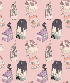 milk pattern   https://es.pinterest.com/doublecloth/