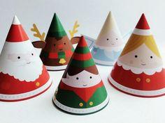 Tutoriel DIY: Fabriquer des cônes décoratifs de Noël via DaWanda.com