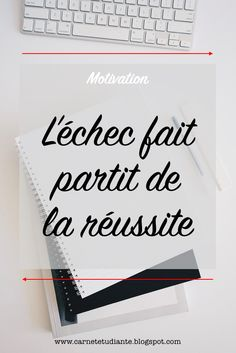 Si comme moi, l'échec est une chose qui vous fait peur. Que vous ne la voyez que négativement, cet article est fait pour vous. #étudiante #études #blog #échec #réussite #motivation Self Improvement, Mood Boards, Letter Board, Feel Good, Spirituality, Cards Against Humanity, Study, Feelings, Words
