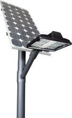 Notre gamme de lampadaire • Lampadaire solaire 7.80m AFRIQUE pour éclairage routier • Lampadaire solaire 7.80m EUROPE pour éclairage routier • Lampadaire solaire 5m pour éclairage piétonnier • Éclairage de mobilier urbain éclairage des pistes cyclables, des jardins publics, des parcs, des lieux touristiques et des campings. Nouveau modèle, équipé de  LED de très haute puissance, permet  un fonctionnement jusqu'à 10 heures par nuit avec une autonomie de 3 jours en cas de période sans soleil.