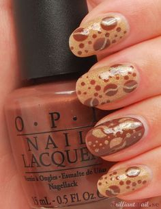 Coffee Nails by BrilliantNail, via Flickr- makes me want a cup of java!