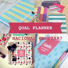 Qual planner nacional comprar? Paperview, evertop, card boutique ou la pomme?