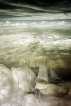 ♂ Dream Imagination Surrealism Surreal arts - Cloud ship