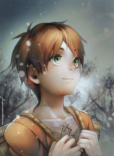 +SNK - First Snowflakes+ by goku-no-baka on deviantART