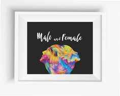 Male and Female ,abstract art, imagination, passion and love in human mind,he and she ,digital prints,watercolor,home decor,instant download