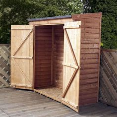6ft x 3ft Winchester Wooden Overlap Storage Shed | Dunelm