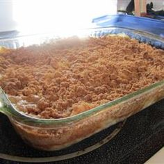 Easy Apple Crisp Allrecipes.com