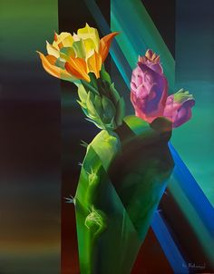 """Cactus""  by Eugene Melamed"