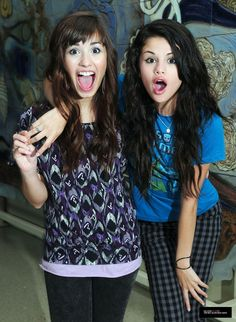 selena gomez and demi lovato photos | Demi lovato and Selena Gomez - Selena Gomez Photo (23798329) - Fanpop ...