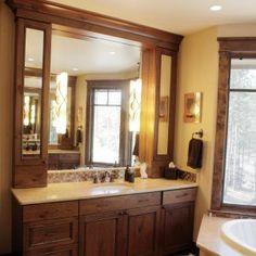 Bathroom Vanity Upper Cabinets