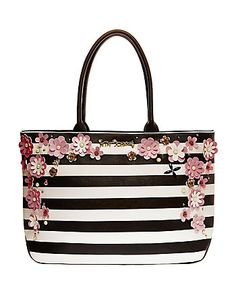 IN BLOOM TOTE BY BETSEY TOHNSON Besty Johnson Purses 92e70f265c034