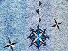 Ice Crystals, Quiltworx.com, Made by Ginette
