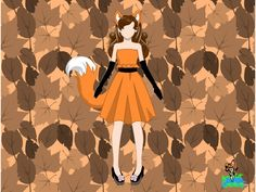 Disney.com/Create - FOX COSTUME :) - AMACAT12. This is exactly how I want my costume to look. Maybe sleeves if its too cold.
