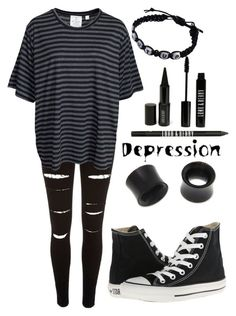 """""""Untitled #750"""" by xxghostlygracexx ❤ liked on Polyvore featuring River Island, Cheap Monday, Converse, NOVICA and Lord & Berry"""
