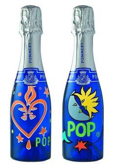 "Champagne Pommery ""POP"" (Bottle Design by Federica Matta)"