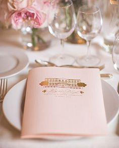 The pretty place settings