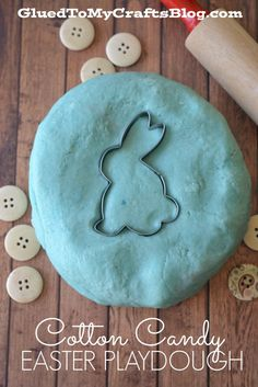 Cotton Candy Easter Playdough