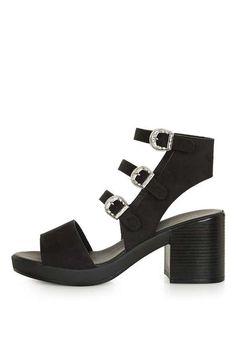 60b9ae2f157a NEIGH Buckle Shoeboot Womens High Heels