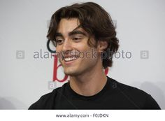 Anaheim, California, USA. 15th Aug, 2015. Blake Michael from the cast of Disney Channel's 'Dog with a Blog' takes fan photos at the Disney D23 Expo