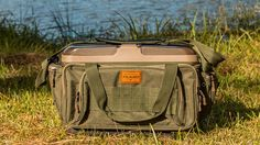 This practically designed fishing tackle bag has more than enough storage space for both co-anglers and bank anglers.
