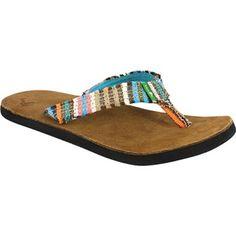 f0b84ed9f Sanuk Womens Flip Flops - Fraidy Cat - SurfandDirt.com your choice for  Crocs shoes