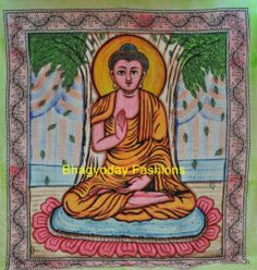 Indian Wall Hanging TAPESTRY MANDALA BEDSPREAD HIPPIE Budha Ethnic Home Decor