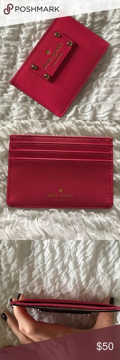 🌟SALE🌟Kate spade wallet Kate spade wallet. Used once. Perfect condition 😍 kate spade Bags Wallets