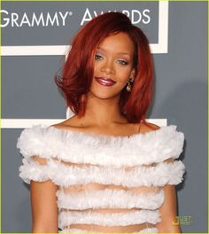 rihanna | Rihanna - Grammys 2011 Red Carpet