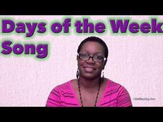 "Join Ms. Tracey as she recites the ""Days of the Week."" This is a great way to memorize the names of each day."