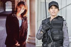 Now: Amy Jo Johnson Today as Jules Callaghan in Flashpoint, 2008-2012