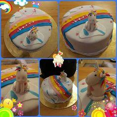 Einhorn Torte Birthday Cake, Desserts, Food, Unicorn, Pies, Tailgate Desserts, Deserts, Birthday Cakes, Essen