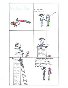 August 7, 2013: ReJoyce Yoga Cartoon: http://rejoyceyogablog.blogspot.com/2013/08/rejoyce-yoga-cartoon-higher-teachers.html