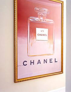 Warhol Chanel ad - must have.