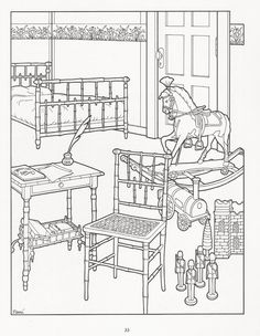 The Victorian House Coloring Book | Coloring pages | Pinterest ...
