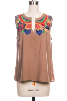 Embroidered Top $33.95